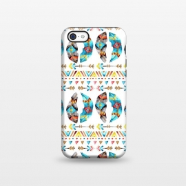 iPhone 5C  Feathers and Arrows by Pom Graphic Design ()