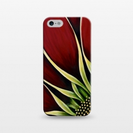 iPhone 5/5E/5s  Red Gazania II by Denise Cassidy Wood
