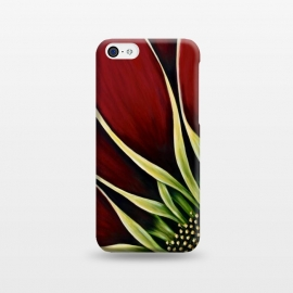 iPhone 5C  Red Gazania II by Denise Cassidy Wood