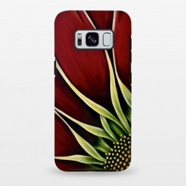 Galaxy S8+  Red Gazania II by Denise Cassidy Wood