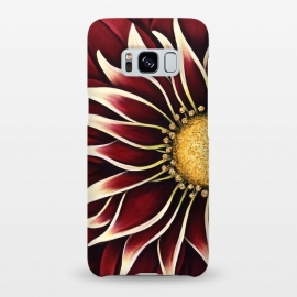 Galaxy S8+  Crimson Zinnia by Denise Cassidy Wood
