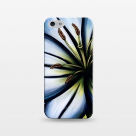 iPhone 5/5E/5s  Blue Lily by Denise Cassidy Wood