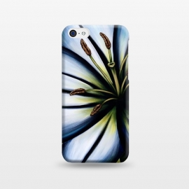 iPhone 5C  Blue Lily by Denise Cassidy Wood