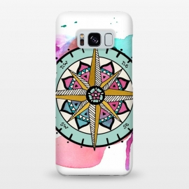 Galaxy S8+  compass by Pom Graphic Design (compass)