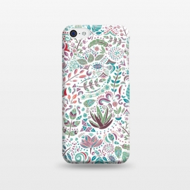 iPhone 5C  Botanical Doodles by Pom Graphic Design ()