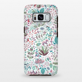 Galaxy S8 plus  Botanical Doodles by