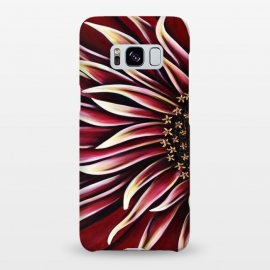 Galaxy S8+  Wild Red Zinnia by Denise Cassidy Wood