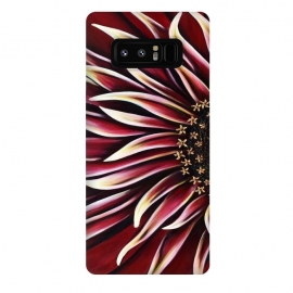 Galaxy Note 8  Wild Red Zinnia by Denise Cassidy Wood