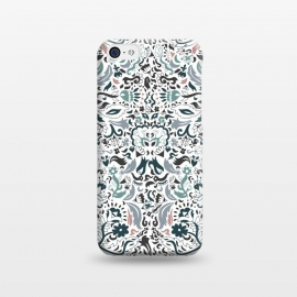 iPhone 5C  Persian Dreams by Pom Graphic Design (persian,oriental,pattern design,florals)