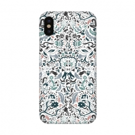 iPhone X  Persian Dreams by Pom Graphic Design (persian,oriental,pattern design,florals)