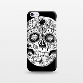 iPhone 5C  Tattooed Skull by Mitxel Gonzalez ()