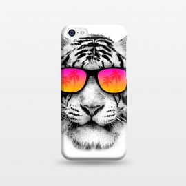 iPhone 5C  The Coolest Tiger by Mitxel Gonzalez (tiger,cool, tigre,beach,summer,coolest,funny,big cat,cat)