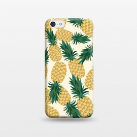 iPhone 5C  Pineapples by Laura Grant