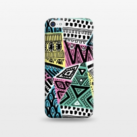 iPhone 5C  Tribal triangles by Laura Grant ()