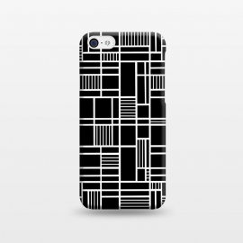 iPhone 5C  Map Outline Black 45 White by Project M ()