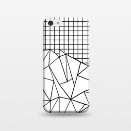 iPhone 5C  AB Grid White by Project M ()
