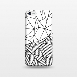 iPhone 5C  AB Half and Half White by Project M ()