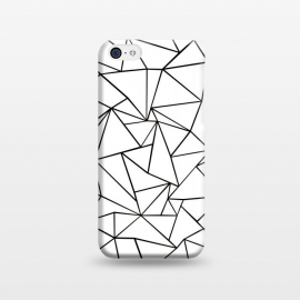 iPhone 5C  AB Outline White by Project M ()