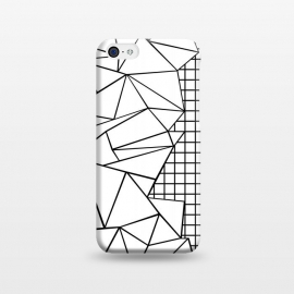 iPhone 5C  AB Side Grid White by Project M ()