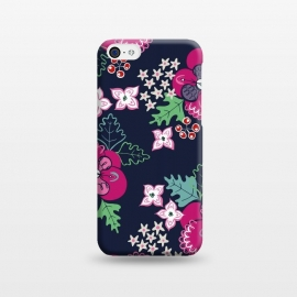 iPhone 5C  Pretty Pansy by Kimrhi Studios ()