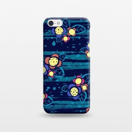 iPhone 5C  Surf Floral by Kimrhi Studios ()