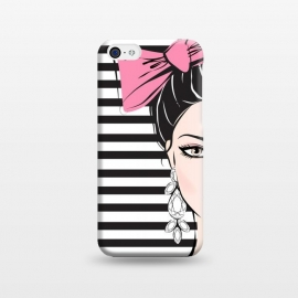 iPhone 5C  Bow Girl by Martina ()