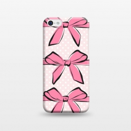 iPhone 5C  Pink Bows by Martina ()