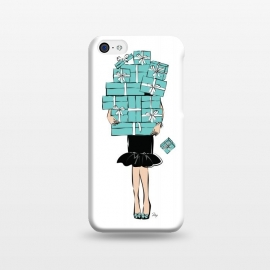 iPhone 5C  Tiffany's Box Girl by Martina ()