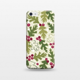 iPhone 5C  Winter Berry by Kimrhi Studios