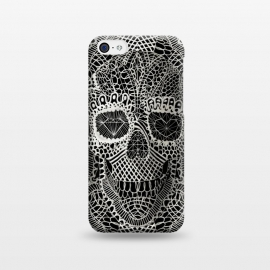 iPhone 5C  Lace Skull by Ali Gulec ()
