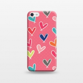 iPhone 5C  Pink Blow Me One Last Kiss by Rosie Simons ()