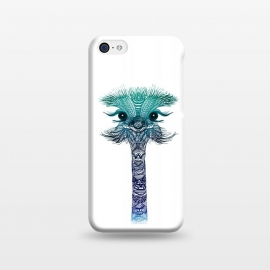 iPhone 5C  Ostrich Strigel Blue Mint by Monika Strigel ()