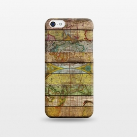 iPhone 5C  AROUND THE WORLD IN THIRTEEN MAPS by Diego Tirigall ()