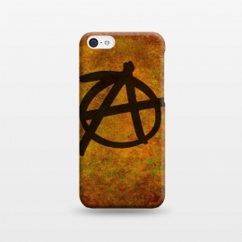iPhone 5C  Anarchy Red by Bruce Stanfield ()