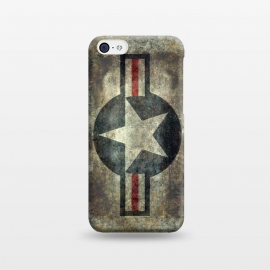 iPhone 5C  Airforce Roundel Retro by Bruce Stanfield