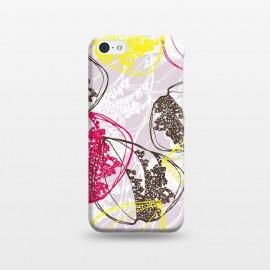 iPhone 5C  Organic Retro Leaves by Rachael Taylor ()