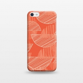 iPhone 5C  Orange Arcs by Rachael Taylor ()