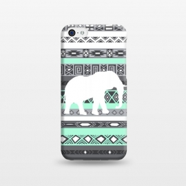 iPhone 5C  Tiffany Elephant Aztec by Rex lambo