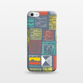 iPhone 5C  Square Metropolis Leaves by Rachael Taylor ()