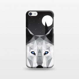 iPhone 5C  The Tundra Wolf by Davies Babies ()