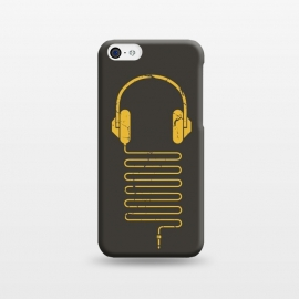 iPhone 5C  GOLD HEADPHONES by Sitchko Igor ()