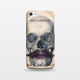 iPhone 5C  SKULL ROCK THE WORLD OK by Diego Tirigall ()