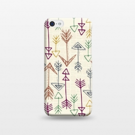 iPhone 5C  Straight Shot arrow by TracyLucy Designs