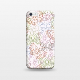 iPhone 5C  Butterfly Field by TracyLucy Designs