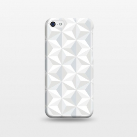 iPhone 5C  White Geometry by M.O.K. ()