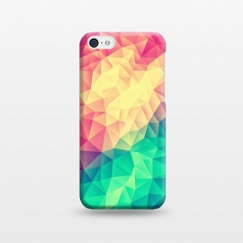 iPhone 5C  MultiColor Cubizm Painting by Philipp Rietz