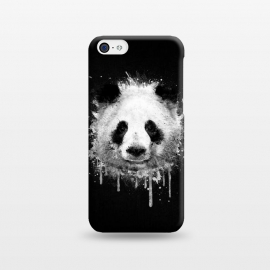 iPhone 5C  Panda Portrait in Black White by Philipp Rietz ()