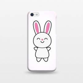 iPhone 5C  Cute Rabbit Bunny by Philipp Rietz ()