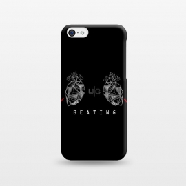 iPhone 5C  Hearts Black Capicúa by W-Geometrics ()