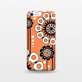 iPhone 5C  Orange Flowers by Shelly Bremmer ()